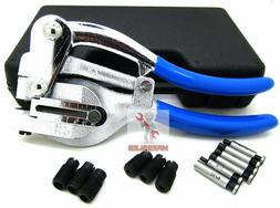Hand Held Power Punch, Sheet Metal Hole Punch Kit