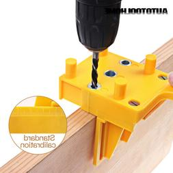 Handheld Woodwork Doweling Jig Drill Guide Wood Dowel Drilli