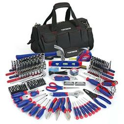 WORKPRO Home Repair Hand Tool Kit Basic Tool Set with bag 32