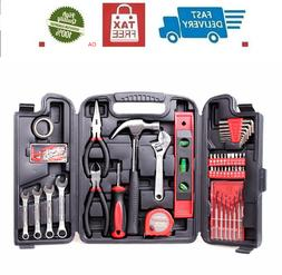 Home Tool Set Kit Mechanic Hand Tools-Socket Screwdriver Wre