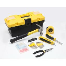 Stanley 132-Piece Homeowner's Hand Tools Kit Box Set