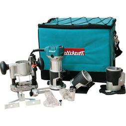 Makita HP Compact Router Kit with Attachments RT0701CX3