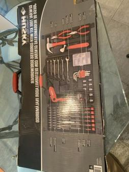 Husky Home Tool Kit with Cordless Screwdriver, Many Pieces N