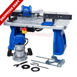 Kobalt K11RTA-03 Fixed Corded Router with Table Included 12-