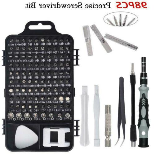110 in 1 precision screwdriver tool kit