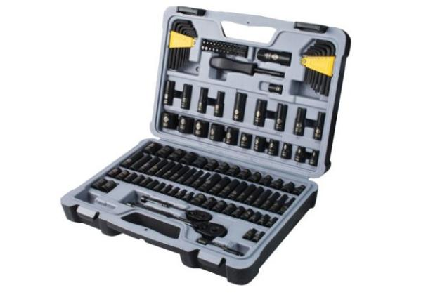 Stanley 123 Piece Mechanics Multi Tool Set for Women Men Gar