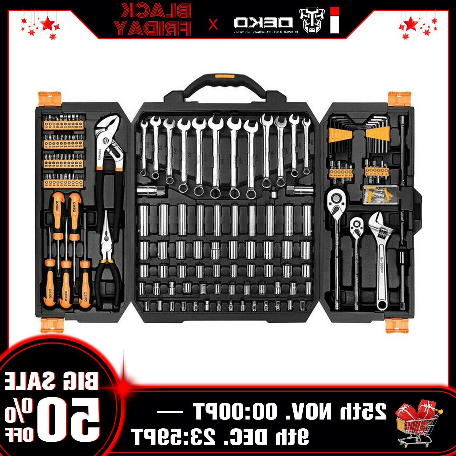 192 pcs tool set socket wrench set