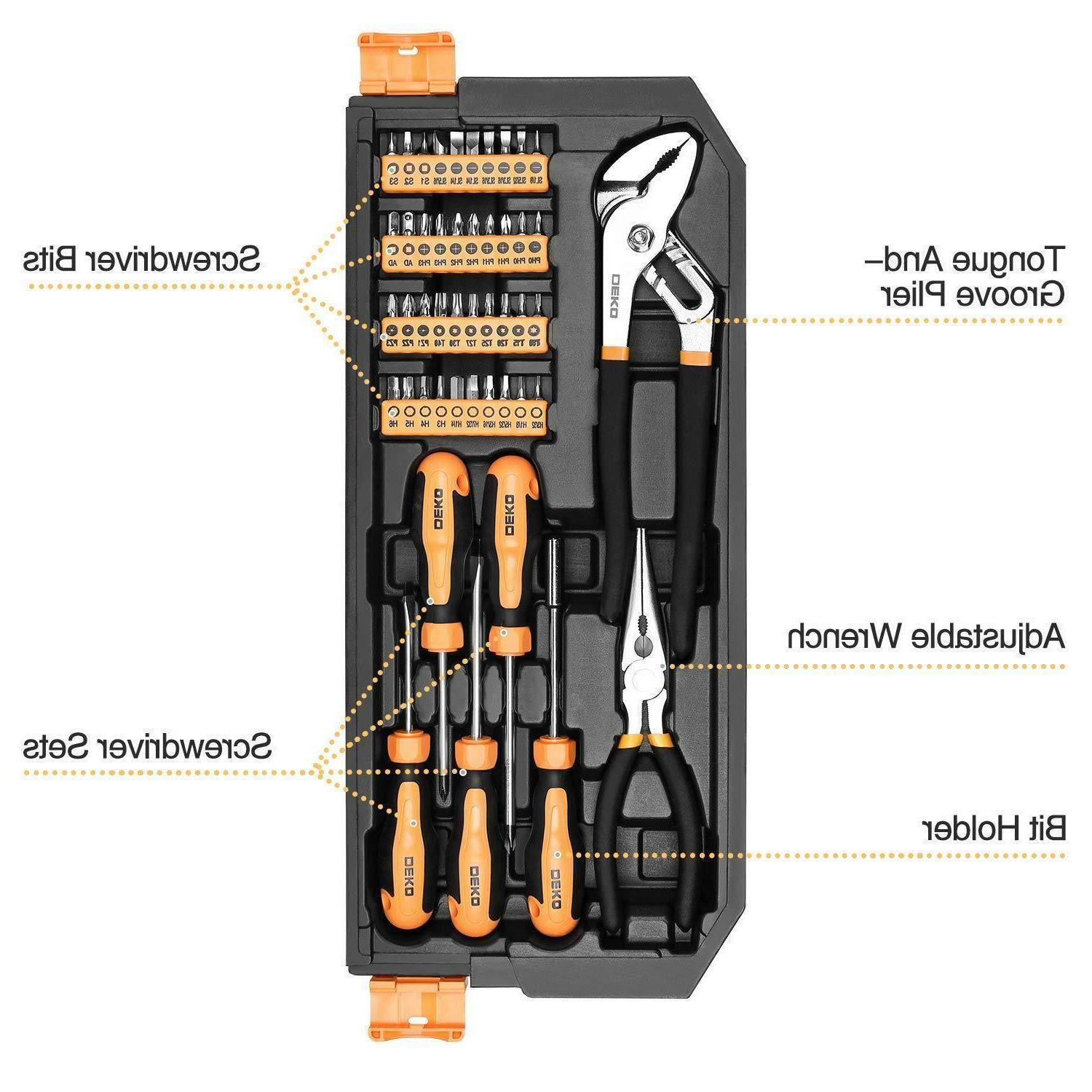 192 Set Socket Wrench Auto Hand Tool Kit