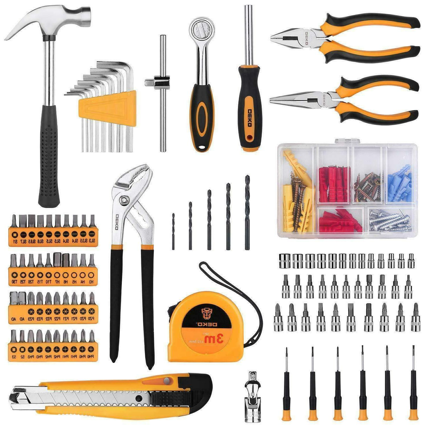 DEKO 196 Set Tool Kit Claw