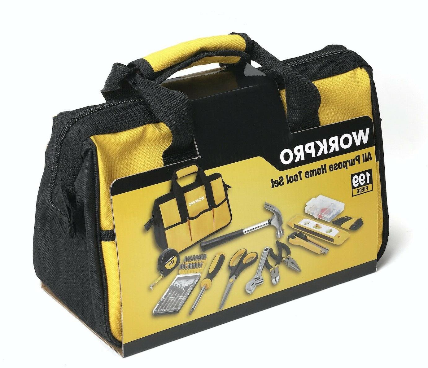 WorkPro 199-Piece Home Tool - 2 DAY SHIPPING