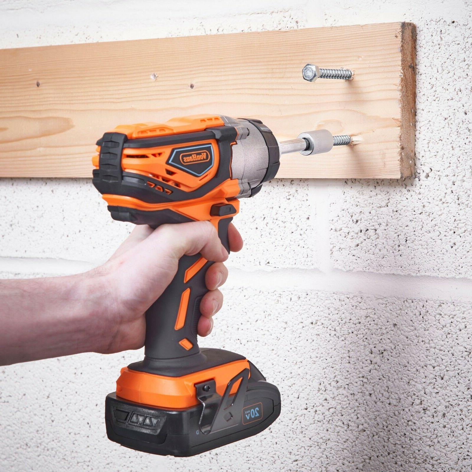 VonHaus 20V 2-TooI Drill Combo Charger