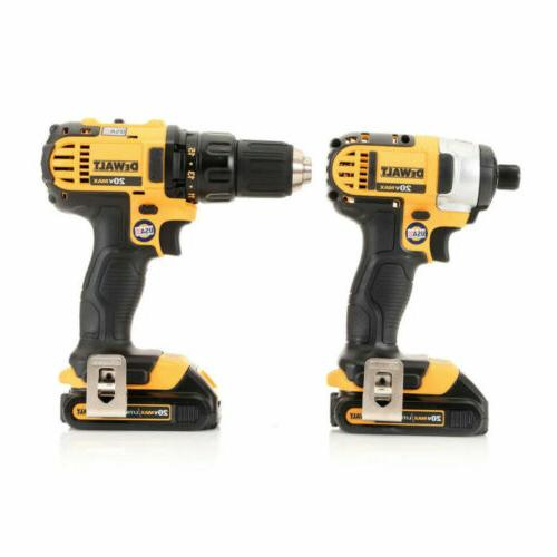 DEWALT 20V MAX 1.5 Ah in. Drill Kit DCK280C2