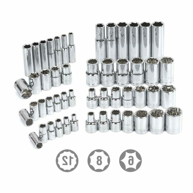 WORKPRO 320-Piece Tool Kit, with Ca