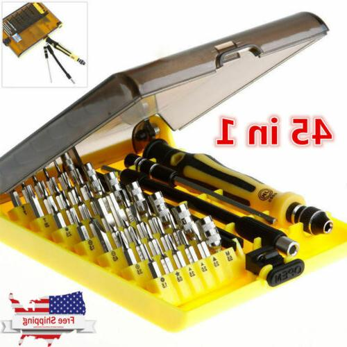 45 in 1 electronic precision screw driver