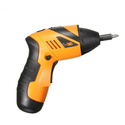 US Plug Power Tool Rechargeable 1 Electric Screwdriver Drill Kit