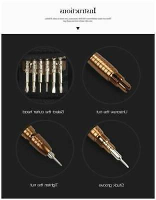 45 Torx Screwdriver Set Hand Tools For iPhone PC US