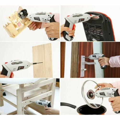 45Pc Multifunctional Cordless Electric Screwdriver Power
