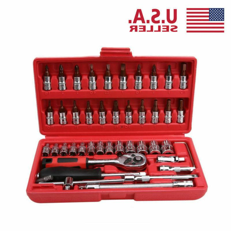 46pcs 1/4 Car Repair Kit