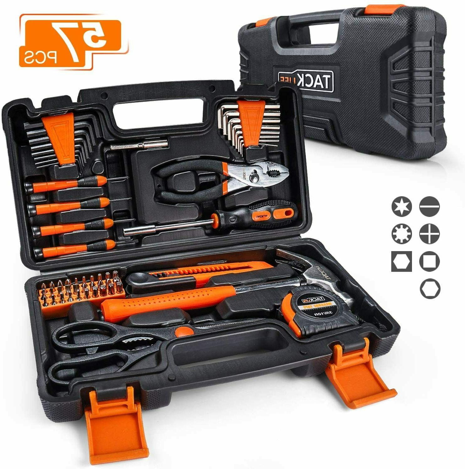 57 piece household tool kit general home