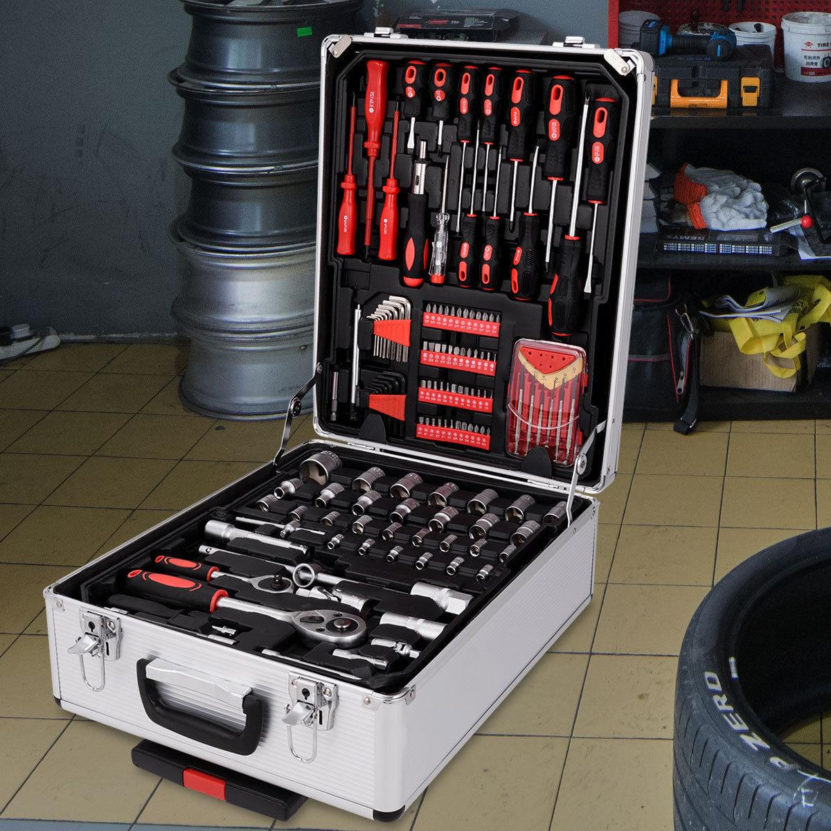 599 Set Socket Toolbox Case Castors