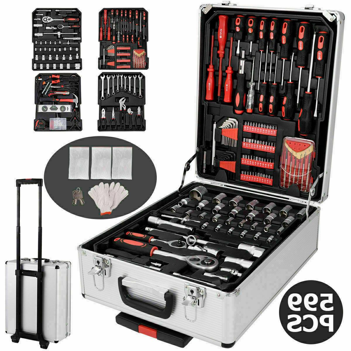 599 pc hand tool set mechanics kit