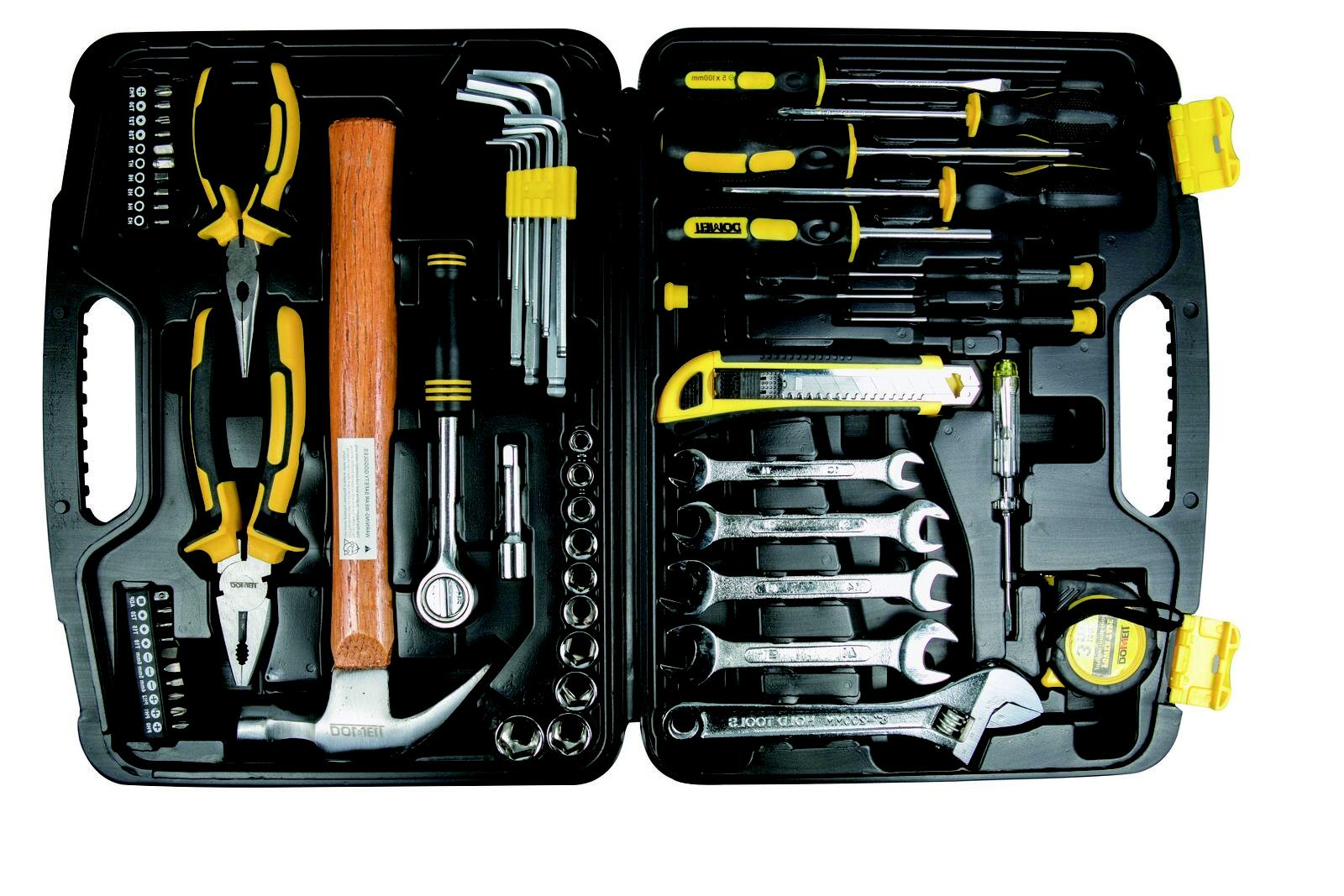 Dowell 61-Piece Homeowner Kit Tool