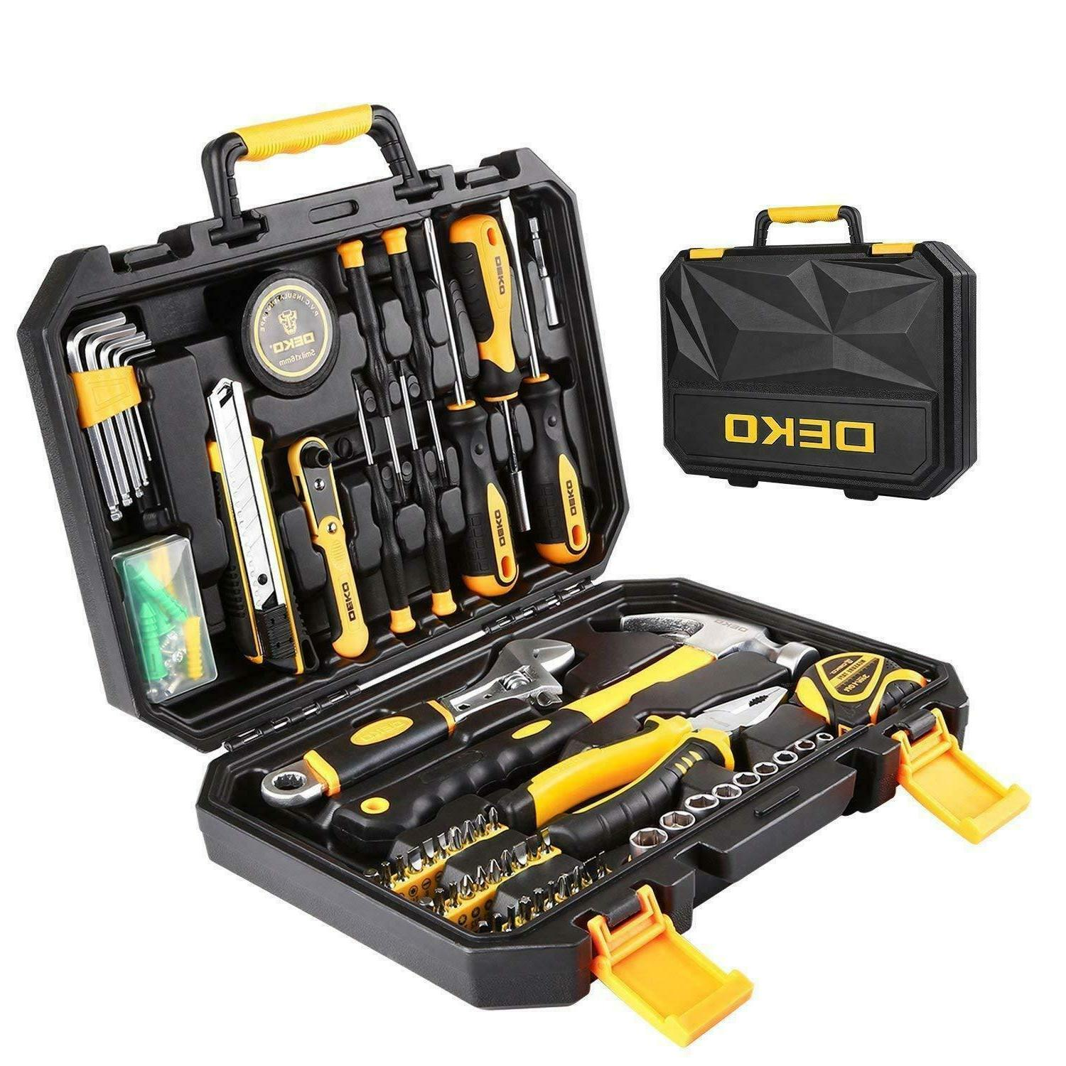 62pc household tool set general household hand