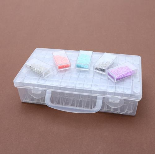 Organizer Case 64 Slot Grid Storage box