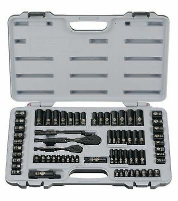 Stanley 92-824 Black Chrome and Laser Etched 69-Piece Socket