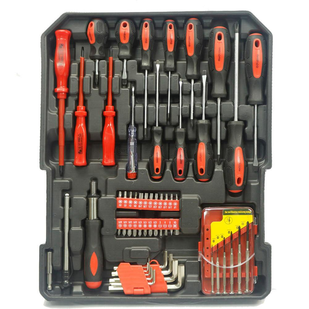 999 Tool Set Standard Metric with Box + Gloves