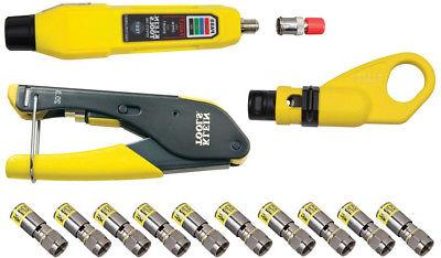 Klein Tools VDV002-818 Coax Installation and Testing Kit