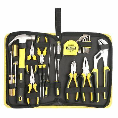 DOWELL 24 Pieces Homeowner Tool Set, Home Repair Hand Tool K