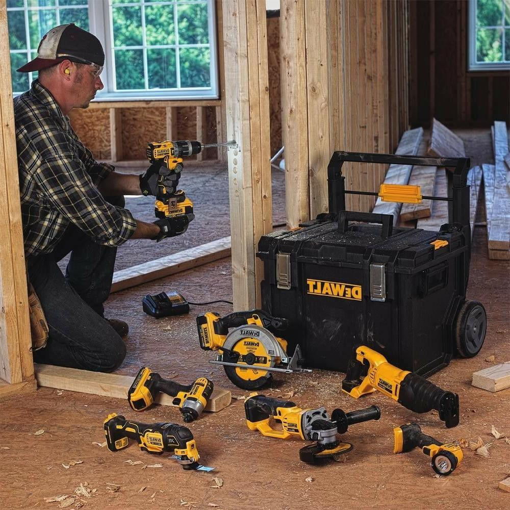Dewalt Combo 7 Set Power Box Drill