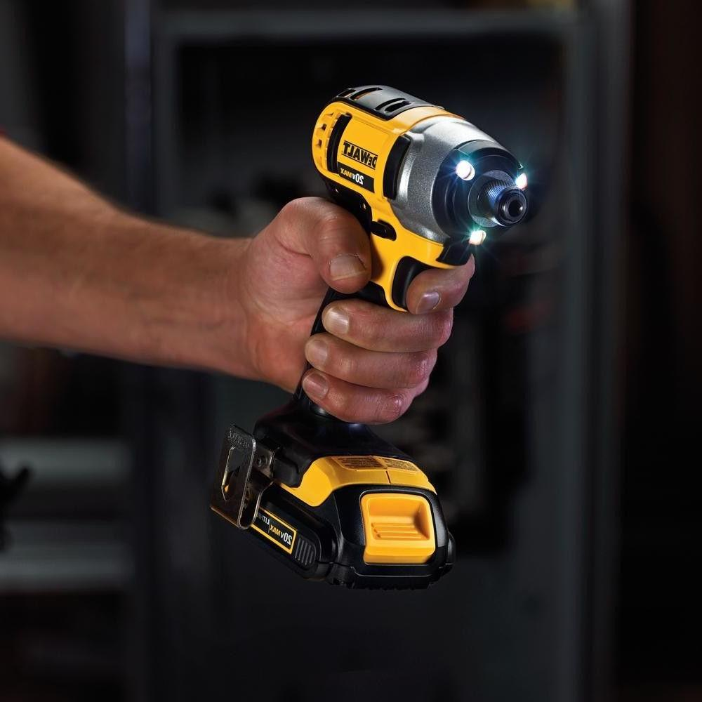 Dewalt Lithium Combo Kit Tool Set Drill Driver