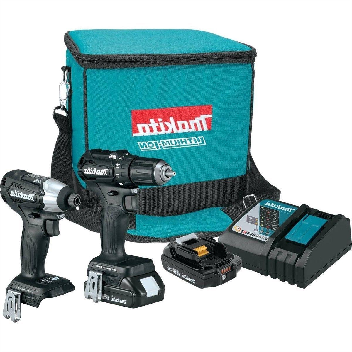 Makita Kit 18V LXT Sub-Compact BL 2-Piece Kit