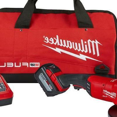 Milwaukee 18V Brushless 7/9 Grinder Kit Power Tool Set