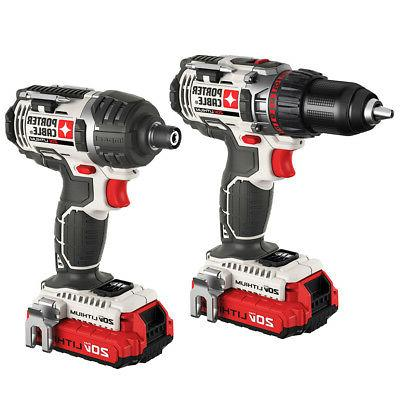 Porter-Cable 20V Cordless Lithium-Ion 2-Tool Combo