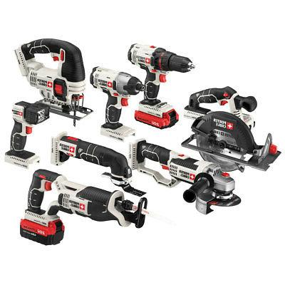 Porter-Cable 20-Volt 8-Tool MAX Lithium-Ion Kit