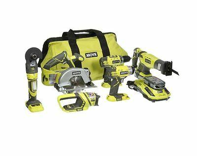 Ryobi Model # P884 ONE+ 18-Volt Lithium-Ion Ultimate Combo K