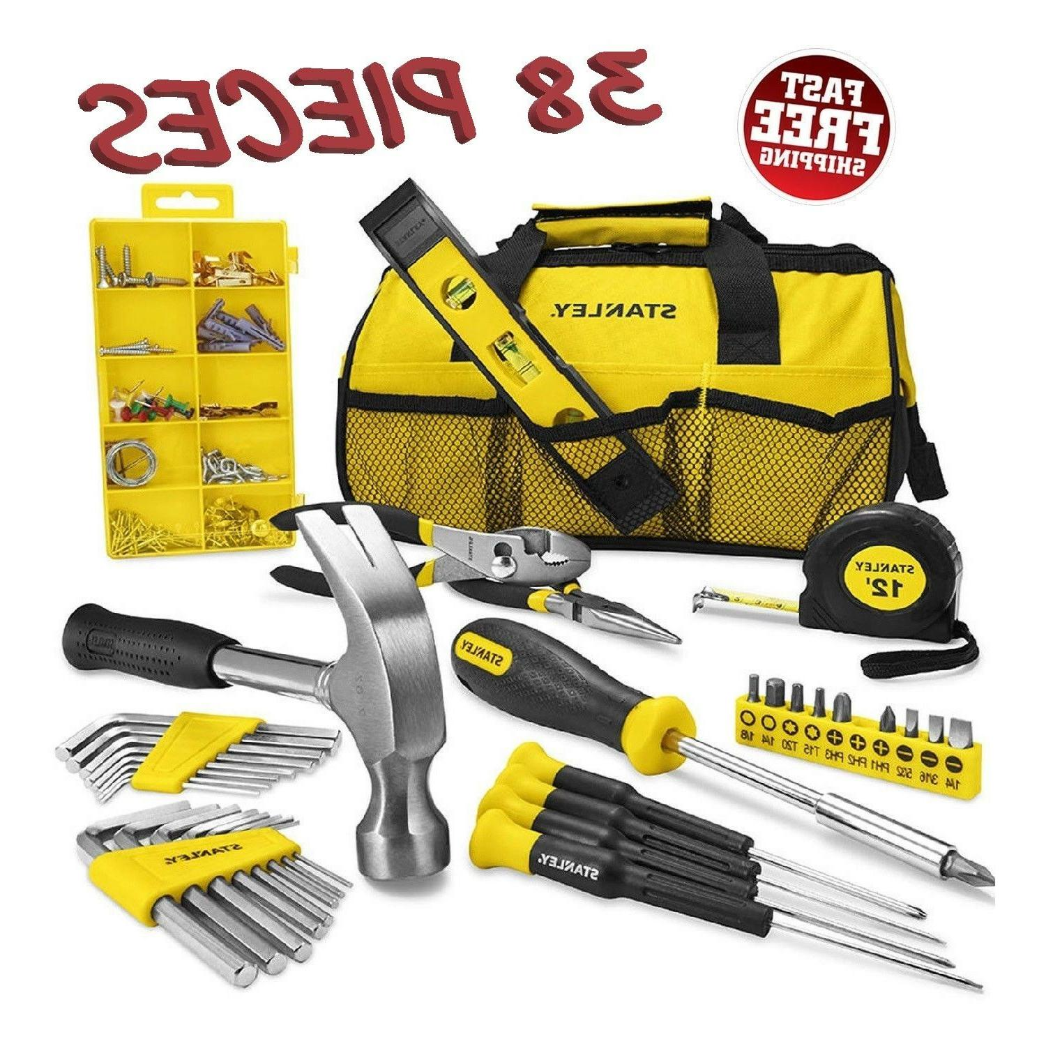 Stanley Household 38pc Tool Set with Soft Case Gift Home Rep