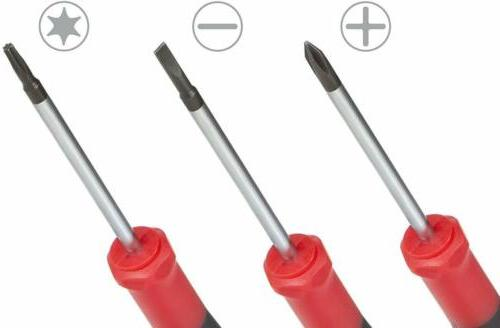 Best Choice Screwdriver Set Phillips, Flat and Star