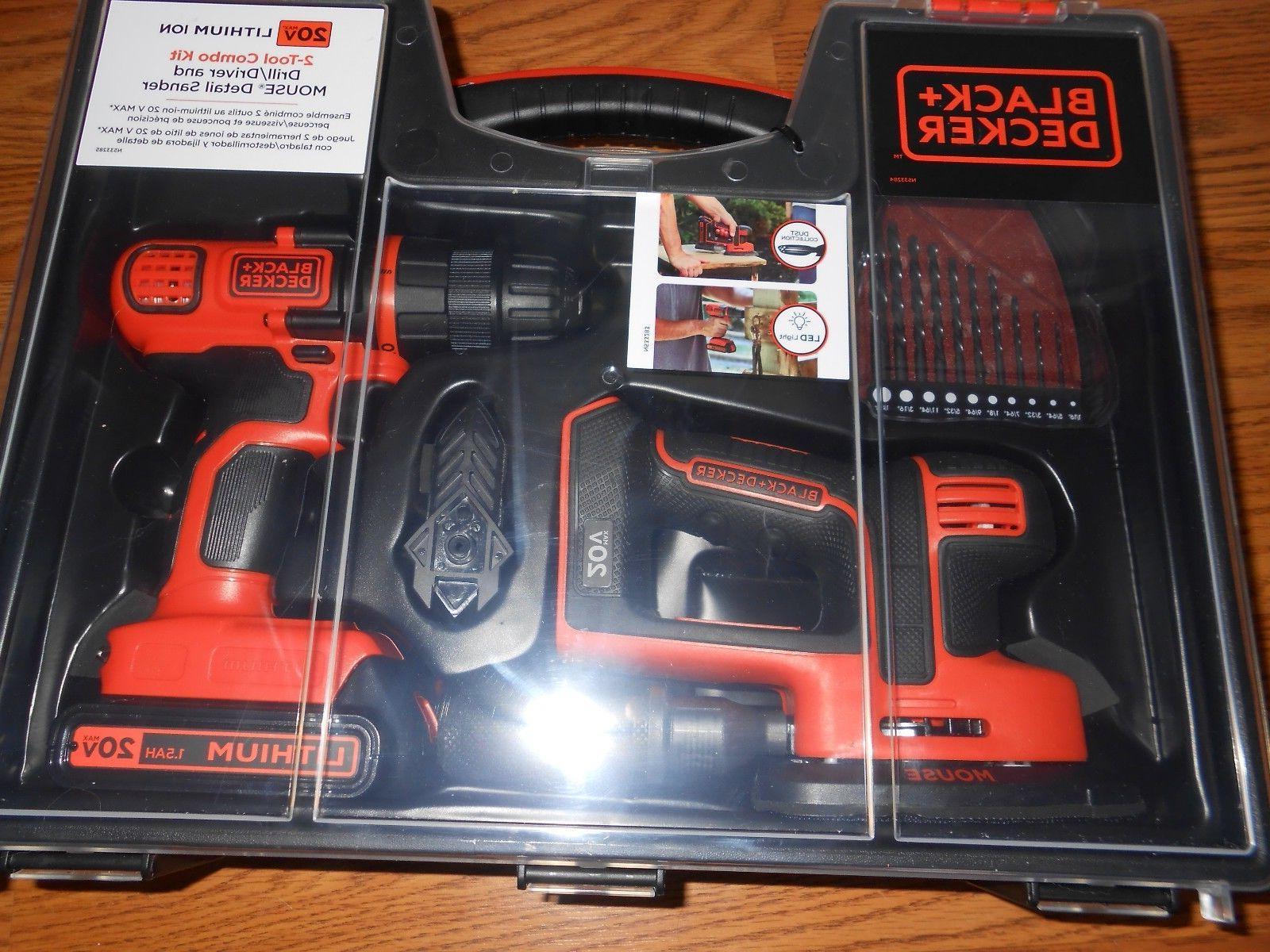 black and decker 20v lithium ion 2