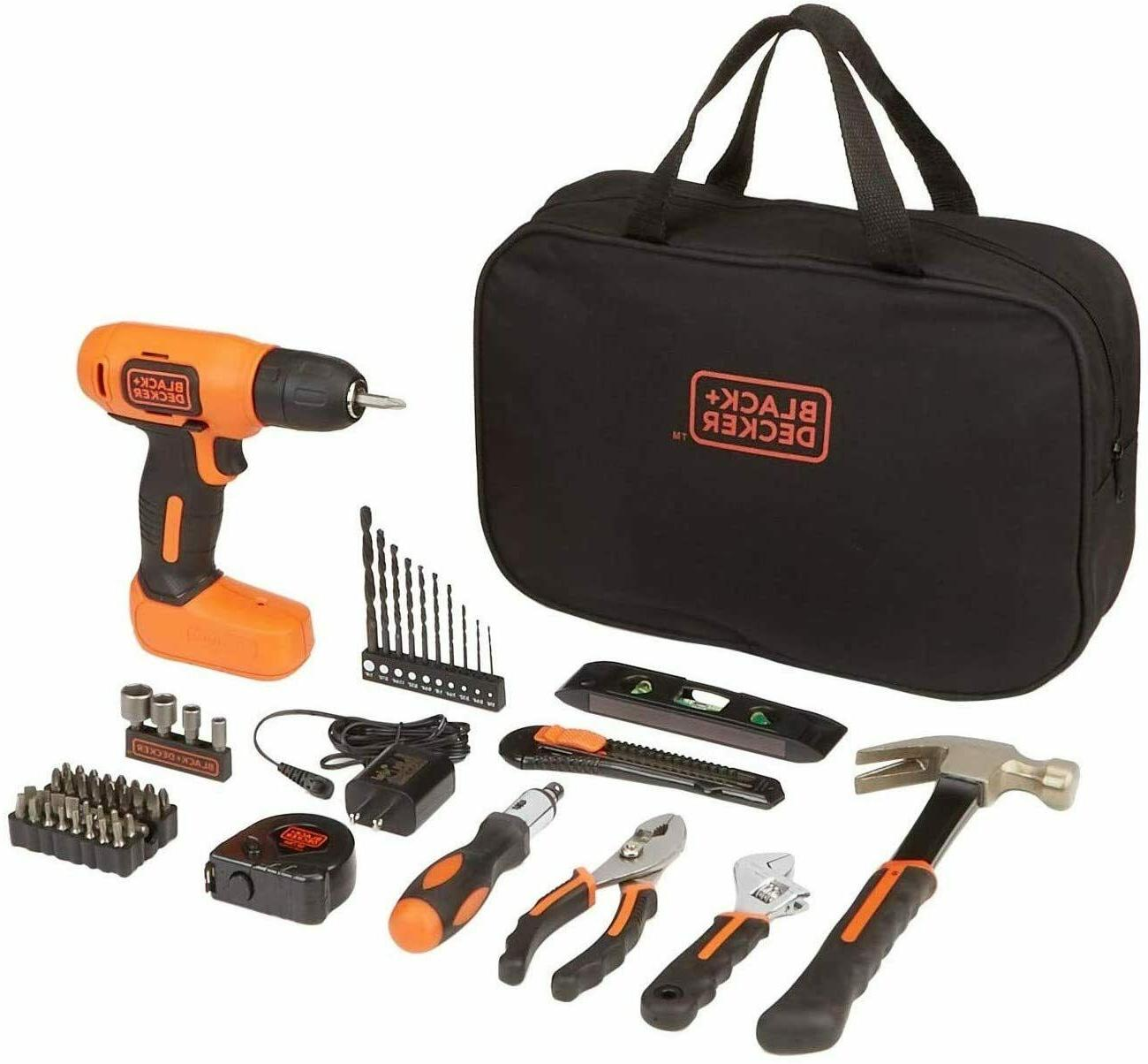 black decker 8v drill and home tool
