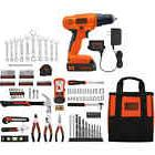 Black and Decker 20V Lithium Drill/Driver with 128-Piece Pro