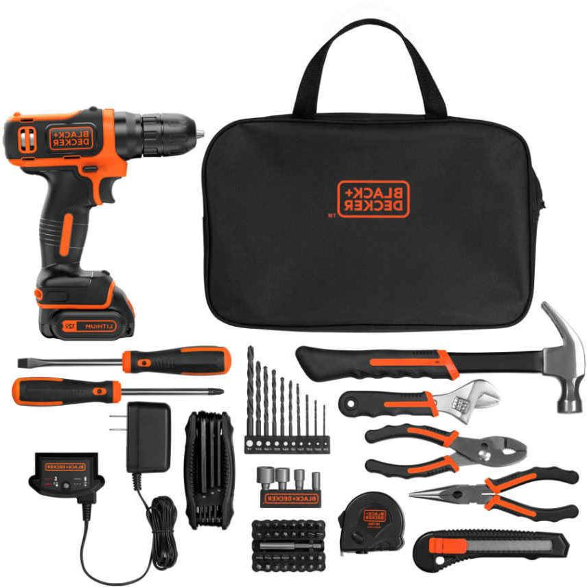 Black and MAX Ion Drill with Kit