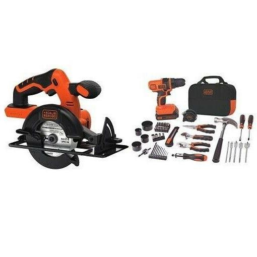 BLACK+DECKER Power Combo Lithium-Ion Drill/Project