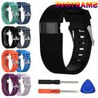 Black Replacement Wristband Band Strap Tool Kit for Fitbit C