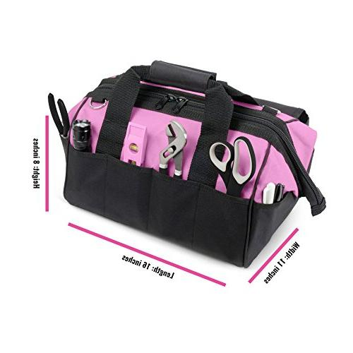 Pink Power 18V Cordless Drill & Screwdriver Combo Tool