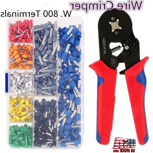 crimp tool kit ferrule crimper plier stripper