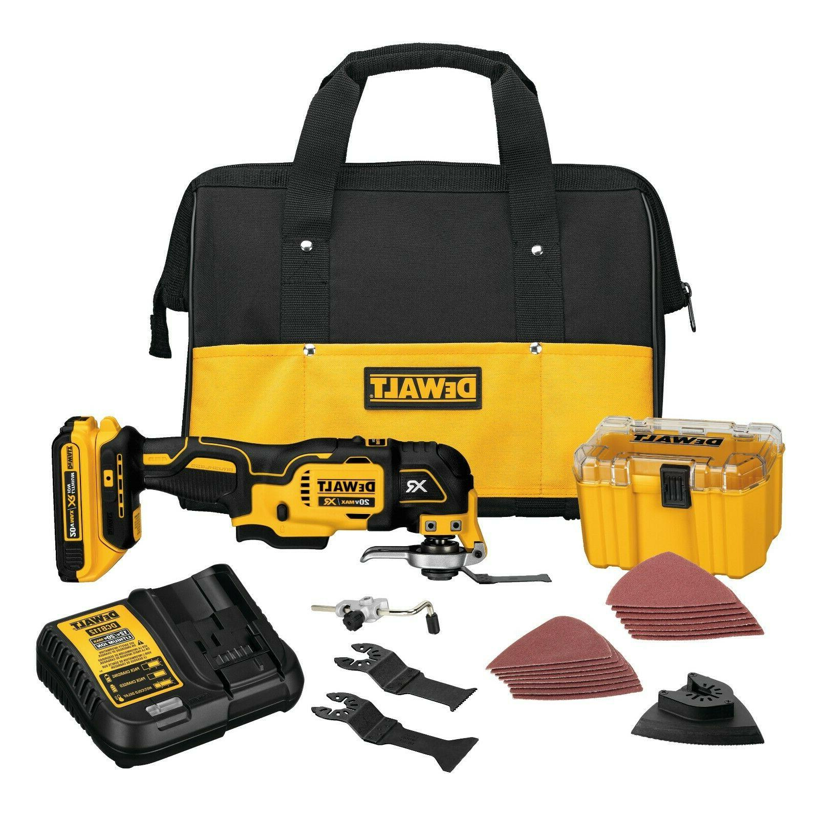 DEWALT DCS355D1 Lithium-Ion Multi-Tool Kit -